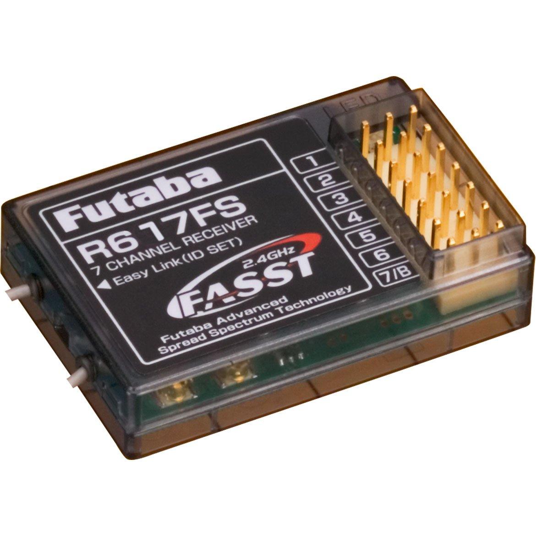 FUTABA r-617 FS schwarz Empfänger Radio – Empfänger Radio (40 mm, 24 mm, 9 mm, 7 g)