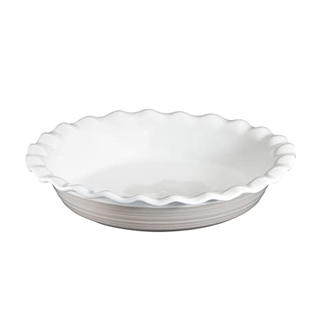 CorningWare Etch 9.5 Inch Pie Plate in Sand  sc 1 st  Amazon.com & Amazon.com: CorningWare Etch 9.5 Inch Pie Plate in Sand: Bake And ...
