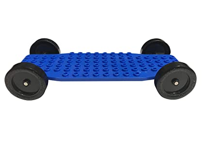 Amazon Com Pro Brick Chassis For Lego Derby Car Racing From