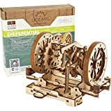 UGEARS STEM Differential Model Kit - Creative Wooden Model Kits for Adults, Teens and Children - DIY Mechanical Science Kit f