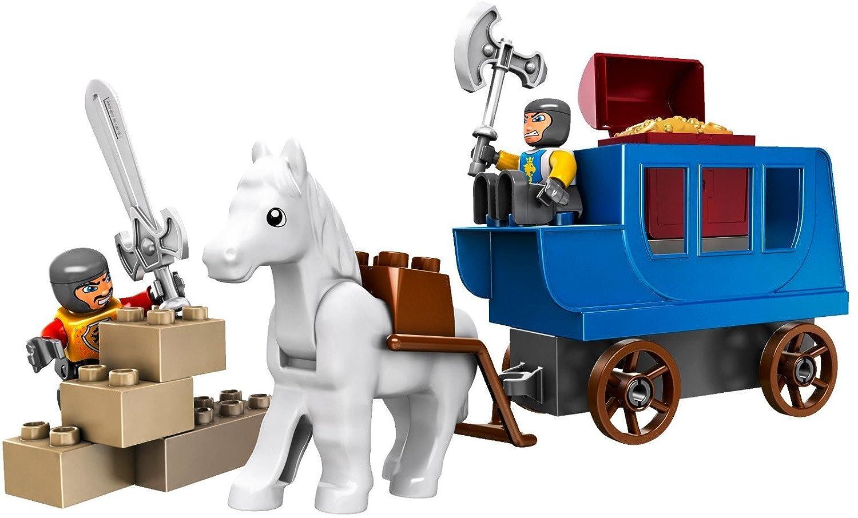 LEGO Duplo 4862 - Castle Kutsche mit Schatz, Schatz, Schatz, 15 Teile dc1805