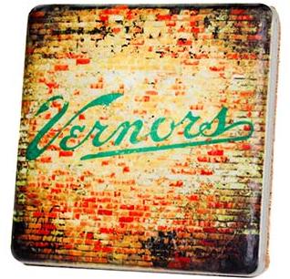 Vernor's Brick Coaster