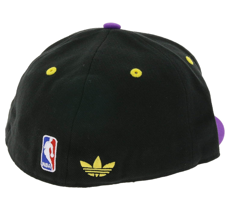 Descolorar patrocinador Dureza  Productos para fans Nba Fitted Los Angeles Lakers Negro/Morado M Gorra  adidas Deportes y aire libre saconnects.org