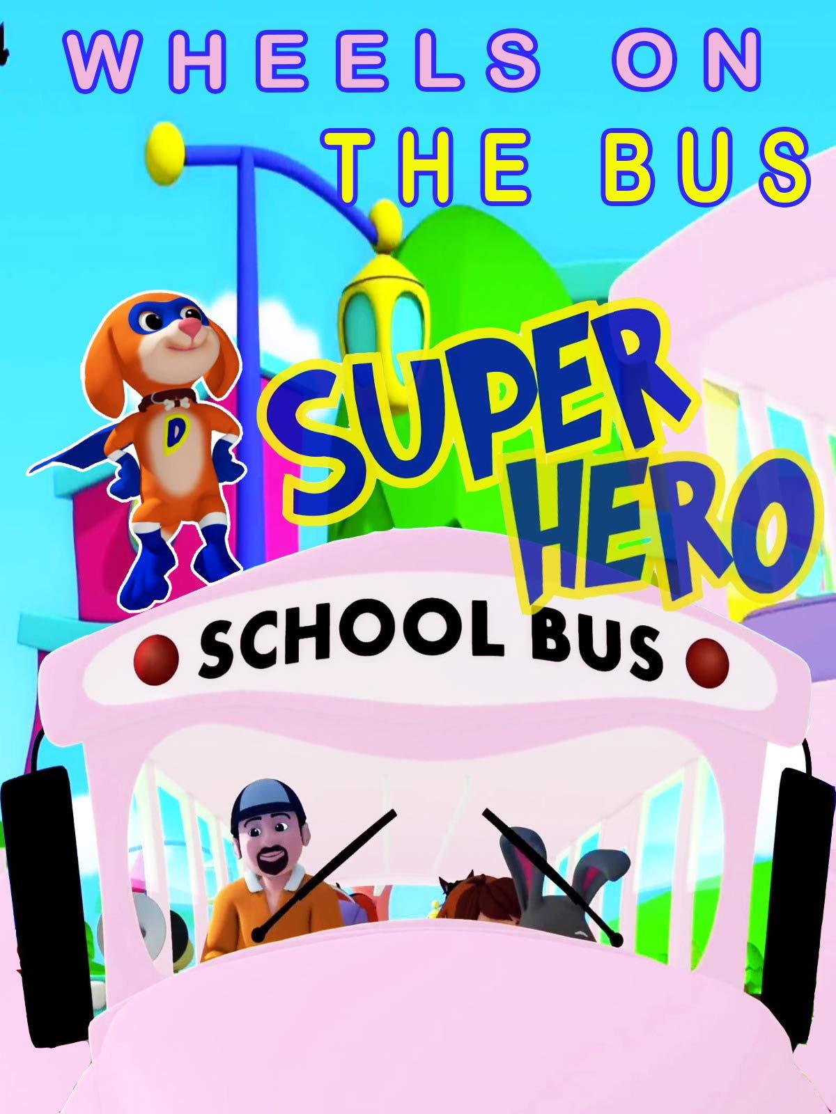 Clip: Wheels On the Bus | Super Hero - Nursery Rhymes & Babysongs