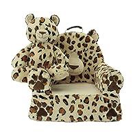 Deals on Soft Landing Darling Duo Sweet Seat & Plush Leopard