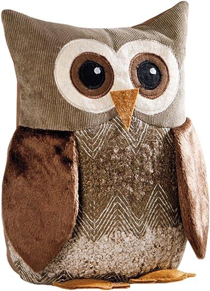 Egon Owl Door Stop Door Holder Door Brake Fabric Owl Supplemental Brake Amazon Co Uk Kitchen Home