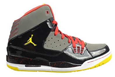outlet store 602ea 9a1eb Jordan SC-1 Men s Basketball Shoes Black Chilling Red Yellow Black Red