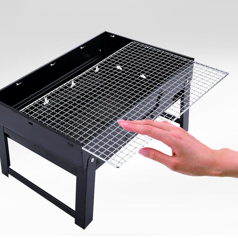 Amazon.com: ZZ-aini Folding Portable Charcoal grills ...