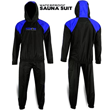 Heavy Duty Sweat Suit Sauna Exercise Gym Suit Fitness Weight Loss