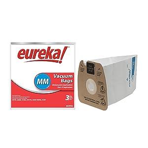 """Eureka 60295C-6 Genuine MM Vacuum Bag, Case Pack of 18 Bags"""""""