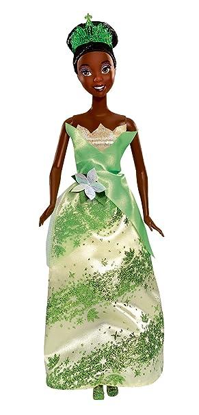 Disney princess w8185 tiana and the frog sparkling princess disney princess w8185 tiana and the frog sparkling princess tiana doll thecheapjerseys Images
