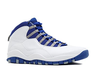 newest collection 47139 82553 Jordan Air 10 Retro TXT Old Royal Men s Basketball Shoes White Old Royal  Stealth