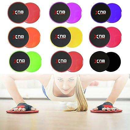 Xn8 Sports - Discos deslizantes de Doble Cara para ...