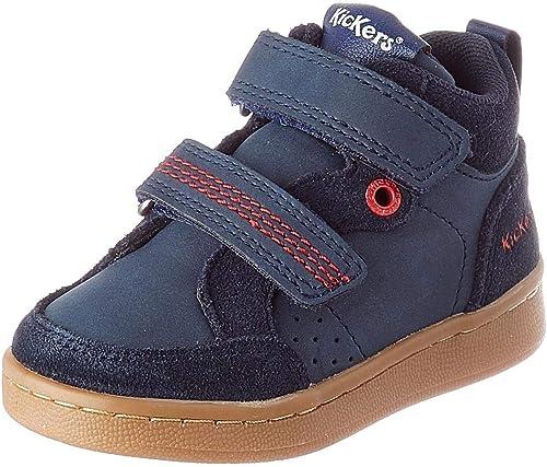 Kickers Baby Boys' Bilbon Velc Sneaker