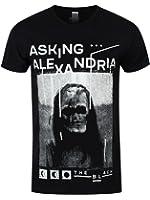 Asking Alexandria Men's The Black AA T-shirt Black