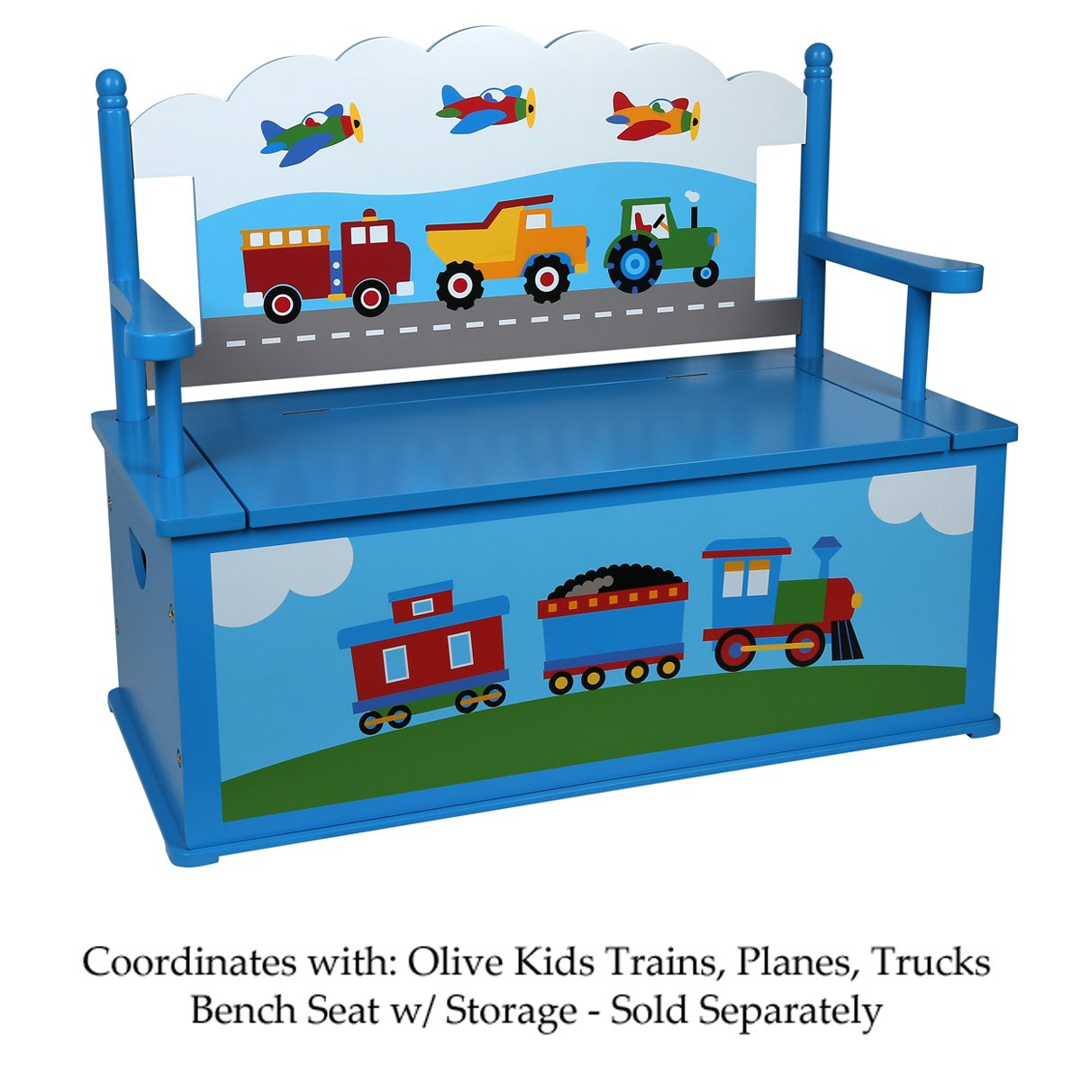 Olive Kids Trains, Planes, Trucks Table & Chair Set by Olive Kids (Image #8)