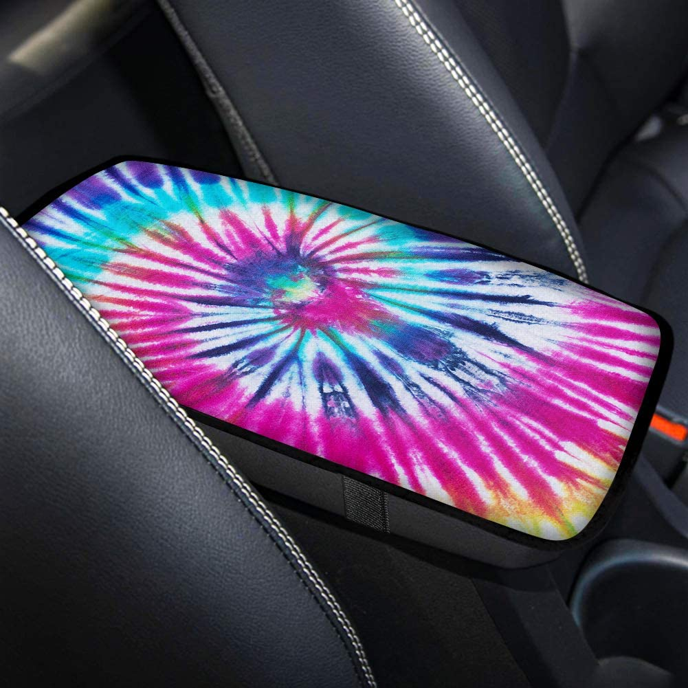 Horeset Aqua Flowers Car Seat Covers Full Set Includes Steering Wheel Cover /& Center Console Armrest Cover /& Automobile Seatbelt Covers Compatible with Sedans SUV Trucks