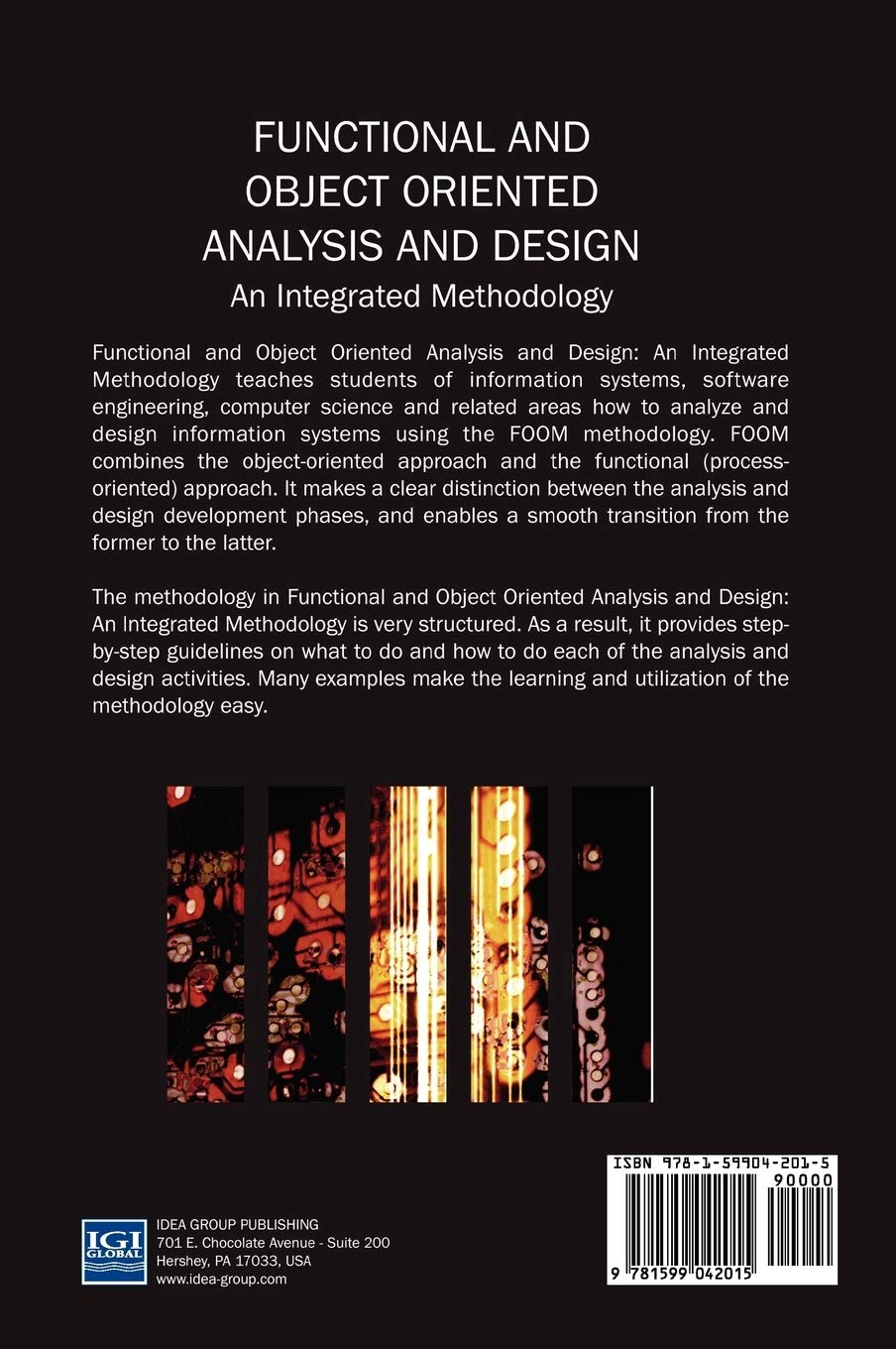 Functional And Object Oriented Analysis And Design An Integrated Methodology Peretz Shoval 9781599042015 Amazon Com Books
