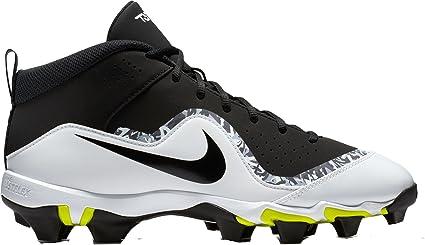 Nike Men's Force Trout 4 Keystone Baseball Cleats(Black/Black, 9 D(