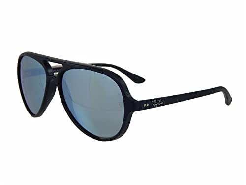 04eb64f4a0051b Ray Ban Cats 5000 RB4125 601S30 Black Silver Green Mirror Flash 59mm  Sunglasses  Amazon.ca  Shoes   Handbags