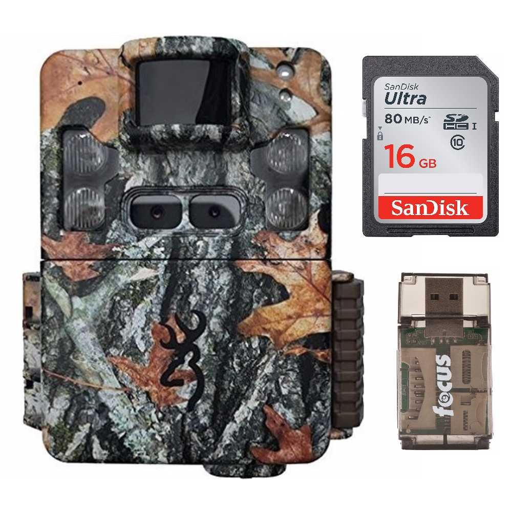 Browning Strike Force Pro XD Trail Camera (24MP) with 16GB Memory Card and Memory Card Reader | BTC5PXD by Browning Trail Cameras (Image #1)