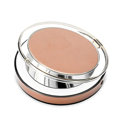 Lighted Makeup Mirror, Mirthee Led Makeup Mirror With 1X/3X Magnification Dimmable Light Compact Mirror And Usb Port(Rose Gold)