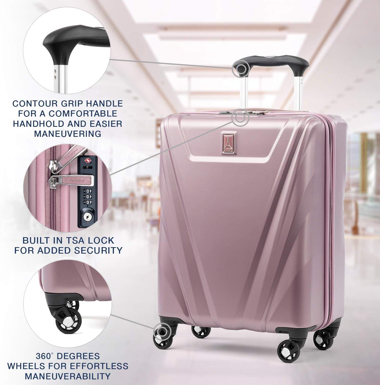 Black Travelpro Maxlite 5-Hardside Spinner Wheel Luggage