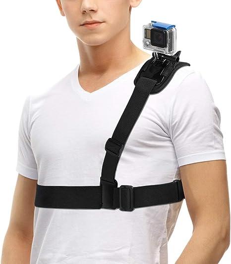 O RLY Arnés de Hombro Shoulder Harness Mount Strap para GoPro Hero ...