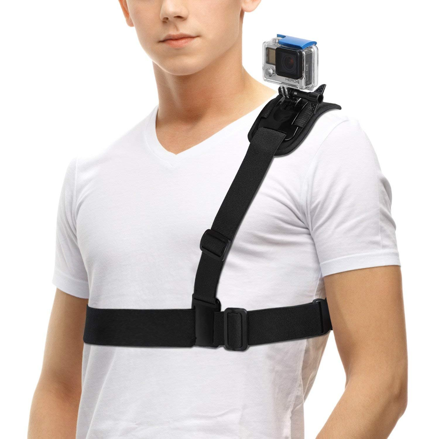 TELESIN Waist Strap Camera Mount Support with Frame for Polaroid Cube and Cube+