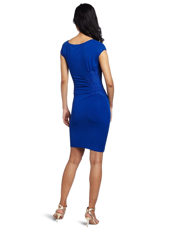 2d638049 Amazon.com: Catherine Malandrino Women's Cap Sleeve Dress with Embroidery:  Clothing