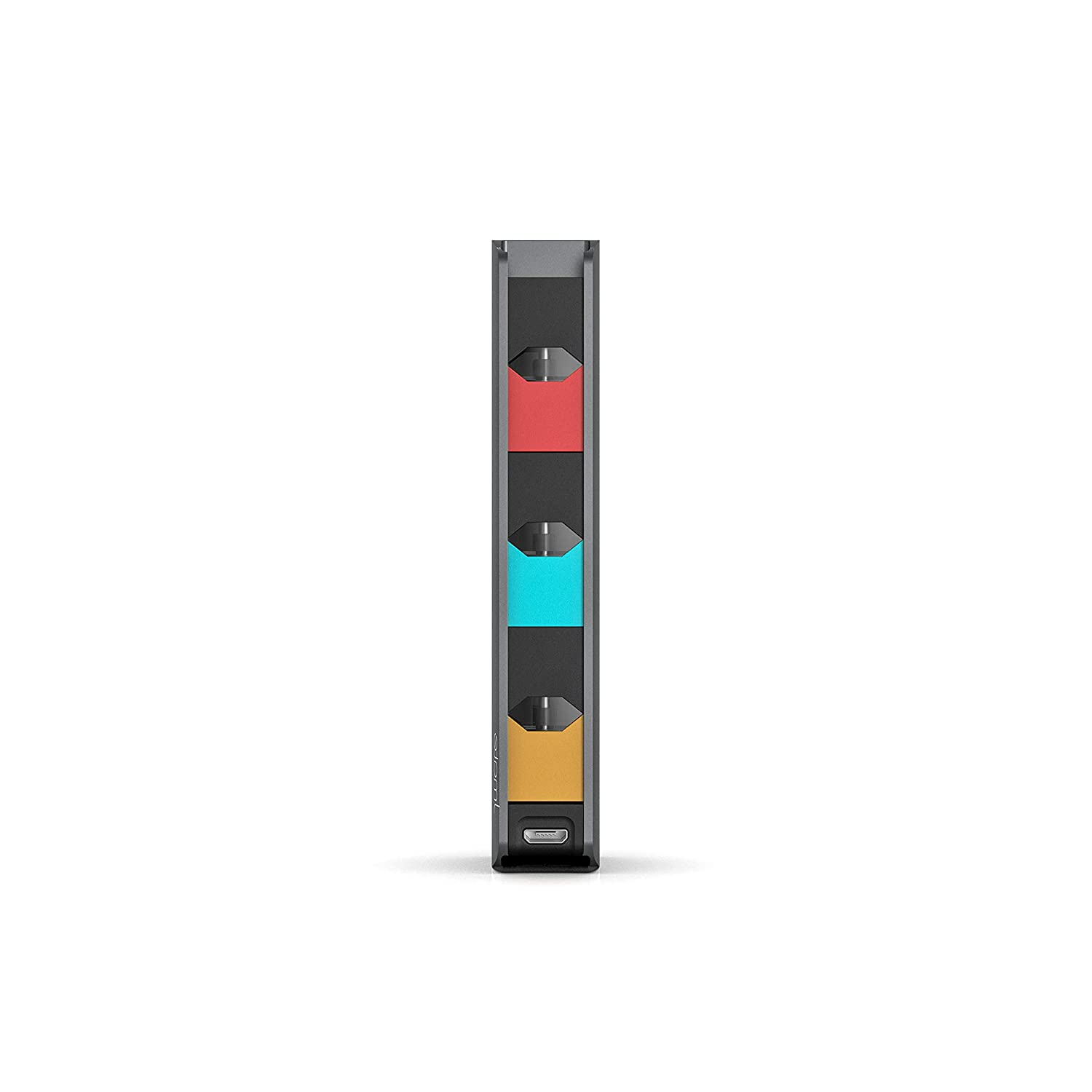 JUUL Starter Kit Holder With Magnetic Port Jmate P3 Juul Charger Case With Space For 3 Pods 800 mAh Portable Battery Charger Power Bank For Charging On The Go