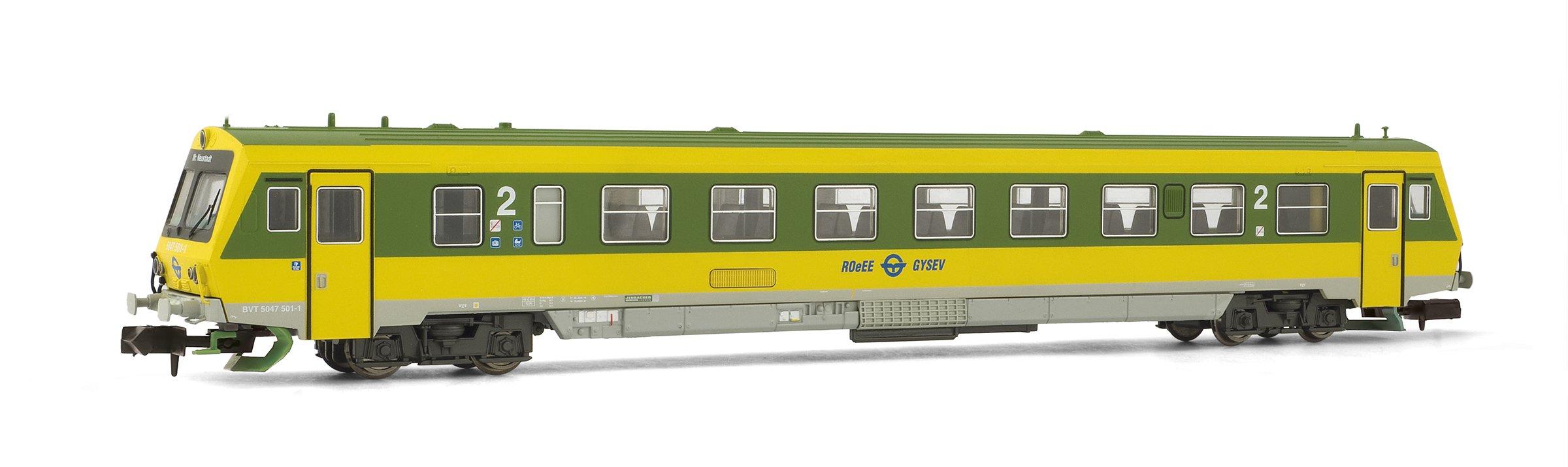 Arnold HN2279-Diesel Triebwagen Range 5047GySEV, Green/Yellow