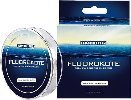 KastKing FluoroKote 100% Pure Fluorocarbon Fishing Line