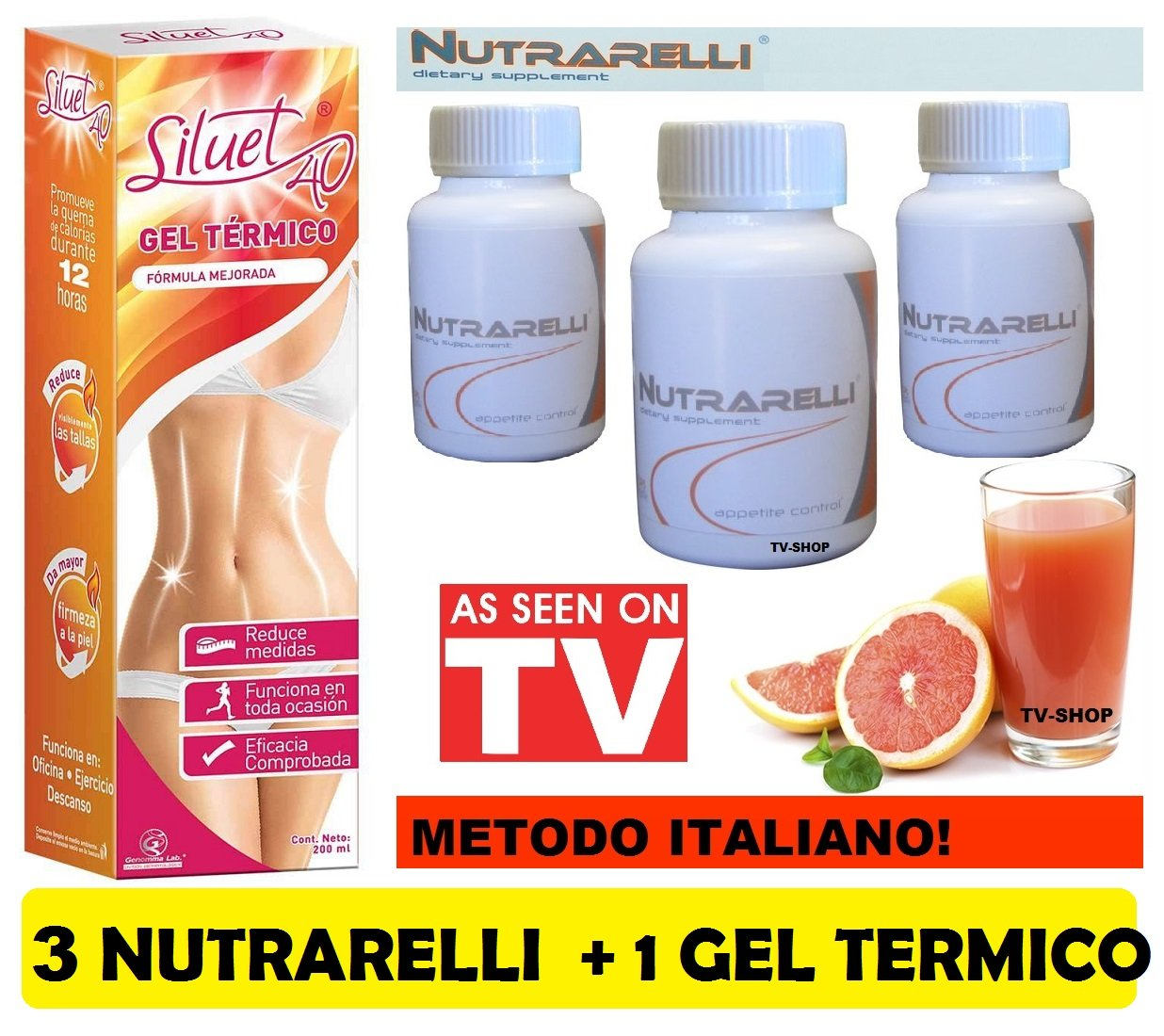 3 Nutrarelli + 1 Destok Gel