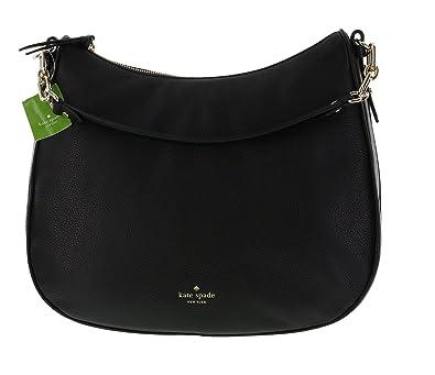 d4867d6800 Kate Spade New York Mulberry Street Maude Pebbled Leather Shoulder Bag  (Black)