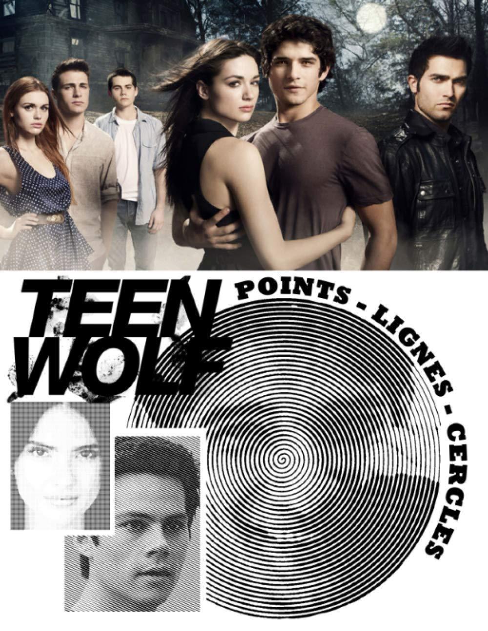 Incroyable  Mot-Clé Teen Wolf Points Lignes Cercles Nouveau type de livre de ...