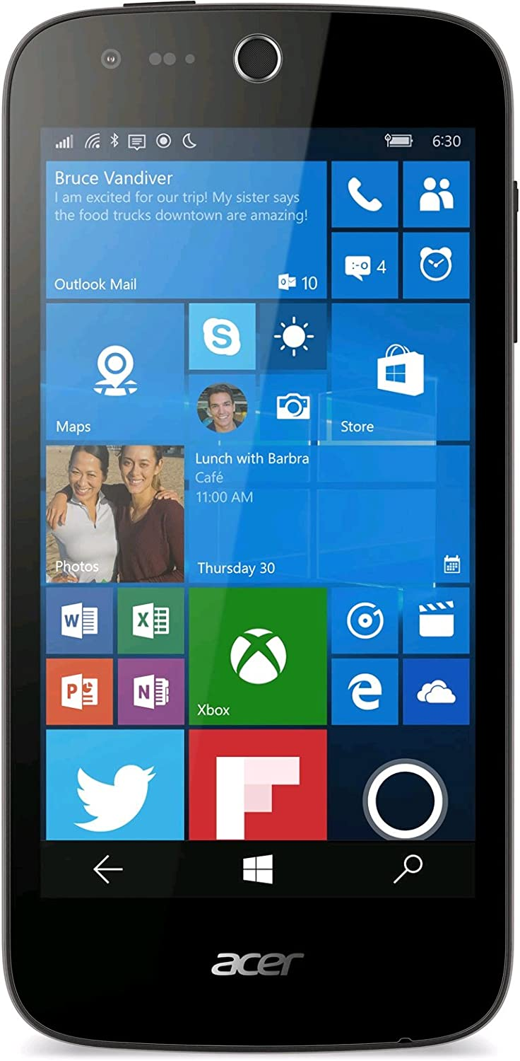 Acer Liquid M330 - Smartphone libre Windows 10 (pantalla 4.5 ...