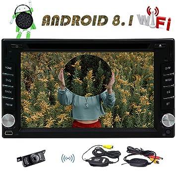 6,2 pulgadas Android 8.1 la radio de coche estéreo con 1024 600 Multi Touch
