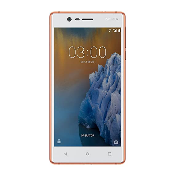 ca195b2896b NOKIA 3 (Copper White)  Amazon.in  Electronics