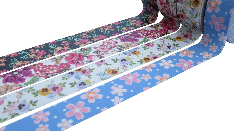 Set di 3/rotoli di nastro adesivo in carta Washi Tape decorativo laminato rotoli da 15/mm x 10/metri Copper