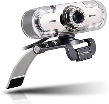 Webcam 1080P, Papalook PA452 de Alta Definición con Micrófono con ...