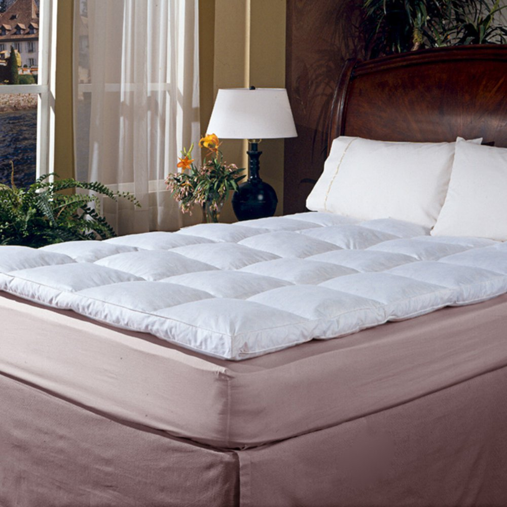 Blue Ridge Home Fashion Classic 233 Thread Count Cotton Featherbed, Full