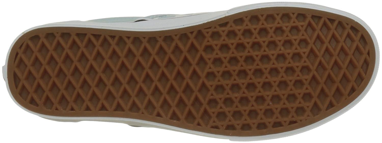 Vans Unisex Classic (Checkerboard) Slip-On Skate Shoe B074H7C3RB 8 M UK|Baby Blue/True White Checkerboard