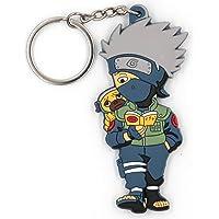 Alisa Novelty Ninja Cartoon Key chain,sof Silica gel Cute Key ring for Girl Boy