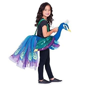 717f150d19c7 3-8 Years Children's Peacock Ride on Animal Fancy Dress Costume ...