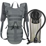 Unigear Tactical Hydration Packs Backpack 1050D with 2.5L Water Bladder, Thermal Insulation Pack Keeps Liquid Cool up to 4 Ho