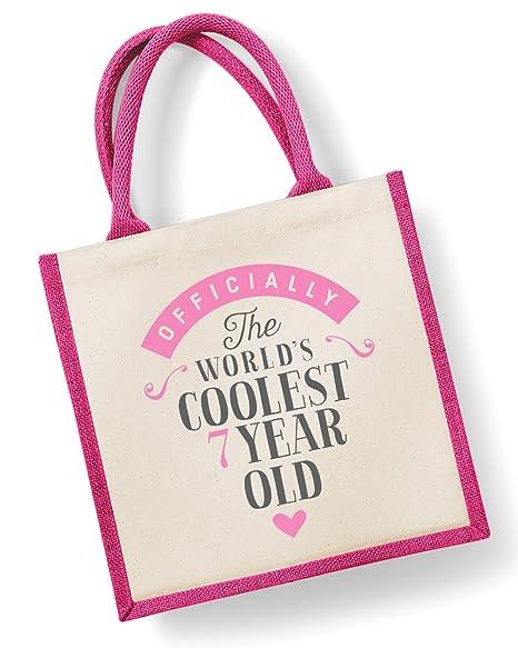 7ª regalo de cumpleaños, bolsa, séptimo cumpleaños, Siete ...