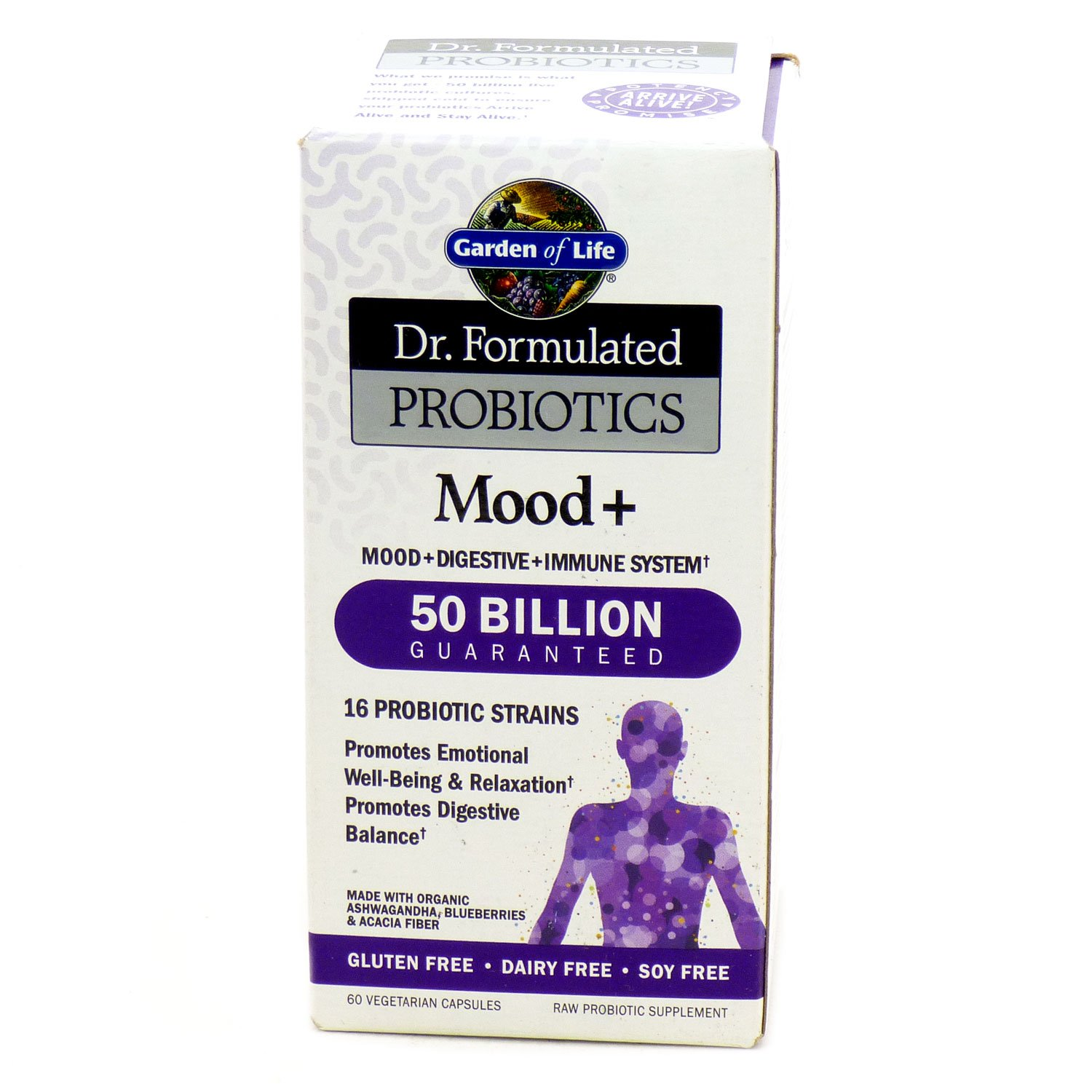 garden of life dr formulated probiotics mood plus