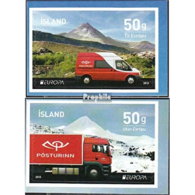 Islande 1394D-1395D (complète.Edition.) 2013 Post (Timbres pour les collectionneurs)