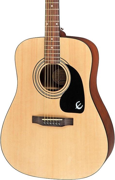 Pr-150 Epiphone Guitarra Acústica Natural: Amazon.es: Instrumentos ...